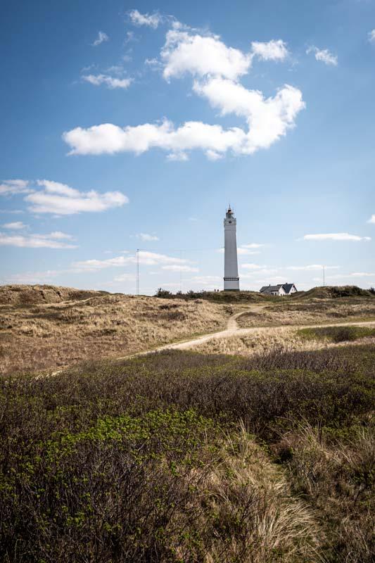 Der Leuchtturm von Blavand an der Dänischen Nordsee